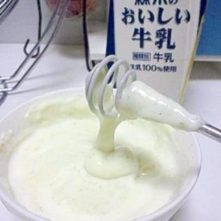 簡単!電子レンジで作る米粉ホワイトソース