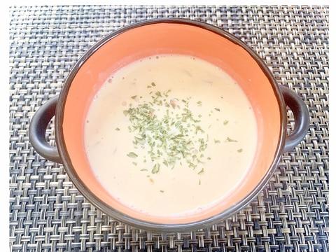 ヘルシー!豆乳味噌スープ