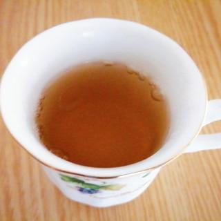 黒蜜とレモンの烏龍茶