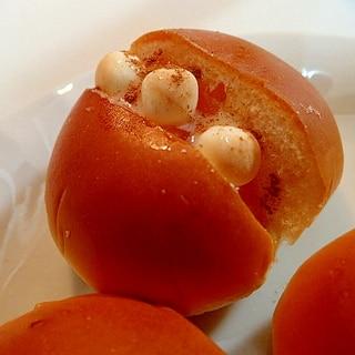 マーマレードと卵ボーロのクリームパン