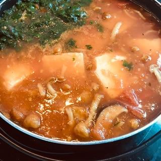 冷たいトマト鍋