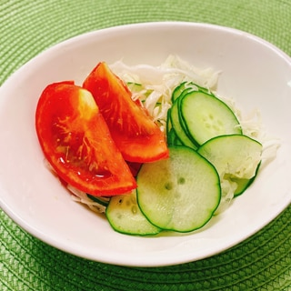 トマト野菜サラダ✧˖°甘酒ドレッシング