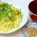 焼きそば麺で作れる(゜ロ゜)「和風★つけ麺」