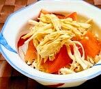 トマトと鶏むね肉の中華和え
