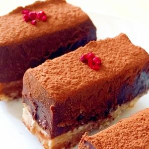 バレンタインに♡簡単生チョコタルト