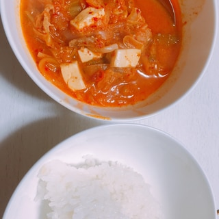 キムチチゲ❤︎簡単にできる本場韓国の味❤︎