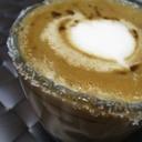 甘いコーヒーカクテル