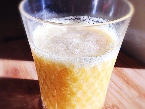 濃厚☆バナナとオレンジミックスジュース