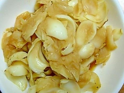 百合根の煮物