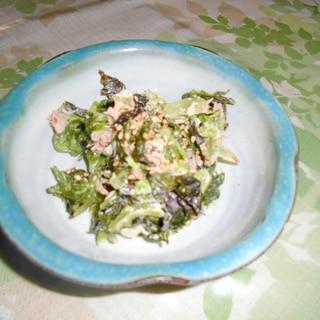 チシャ菜の和え物