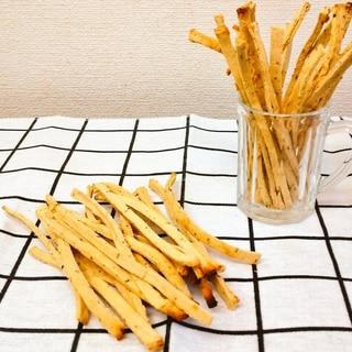 【低糖質】おからパウダープリッツ風コンソメバジル味