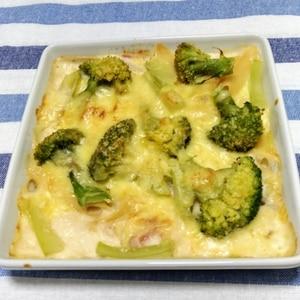 ブロッコリーの豆腐キッシュ