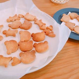 パサパサしない美味しい米粉クッキー