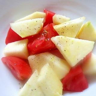 トマトとリンゴのフレンチサラダ