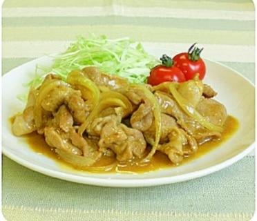 顆粒タイプの鍋の素で作れる豚肉の味噌カレー牛乳炒め