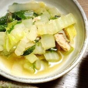 鮭缶で簡単☆白菜鮭煮