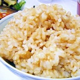圧力鍋使用・浸水なしで美味しい玄米