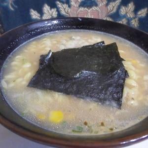インスタント麺アレンジピリ辛味噌ラーメン