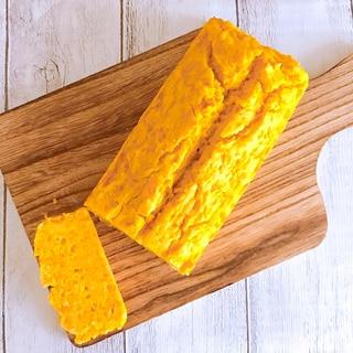 離乳食後期☆米粉でかぼちゃのパウンドケーキ