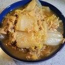 簡単白菜とツナの煮びたし
