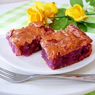 HBで簡単☆紫芋のハニー♥スィートポテト