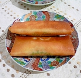 大根とベーコンのチーズ春巻き