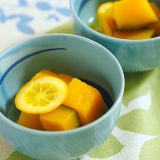 かぼちゃのメイヤー(マイヤー)レモン煮♬