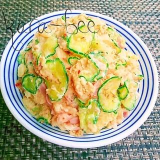 お弁当にも◎味付け簡単!スイチリマヨポテサラ