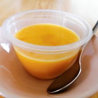 寒天で☆かぼちゃのミルクプリン