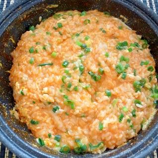 トッポキの絞めは、雑炊に限る!