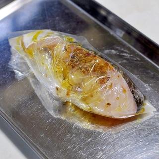 下味冷凍◇生鱈のハーブ&オリーブオイル漬け