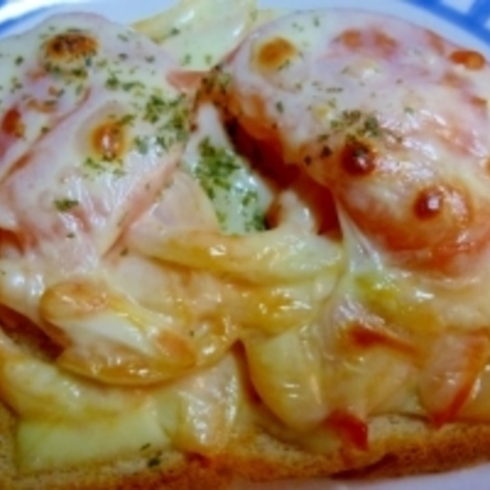 ☆玉ねぎとトマトのチーズトースト☆