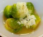 芽キャベツの食べるスープ