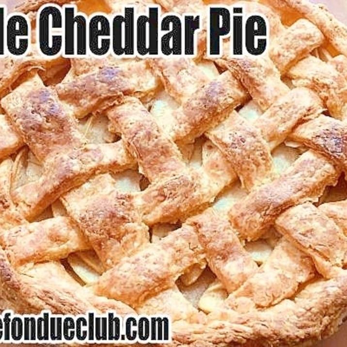 チェダーチーズ・アップルパイ