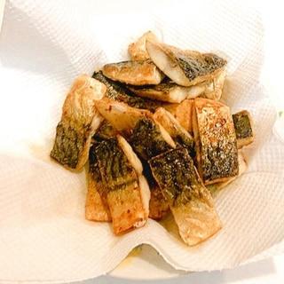 ご飯が進みます☆塩サバのカラッと竜田揚げ