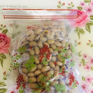 ☆大豆の水煮の作り方と冷蔵保存&冷凍保存☆