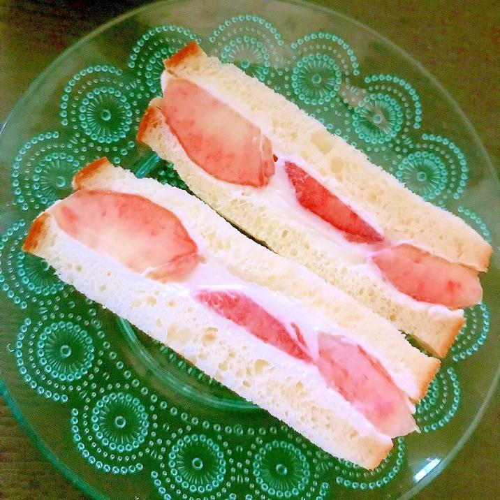 レシピ 桃 モッツァレラ