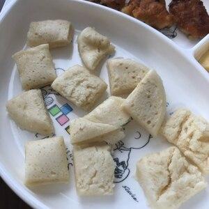 離乳食*レンジで簡単!蒸しパン*おやつ