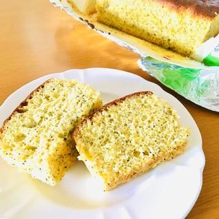 ホットケーキミックスで!紅茶のパウンドケーキ