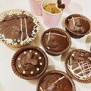 バレンタインコーヒーケーキ(チョココーティング)