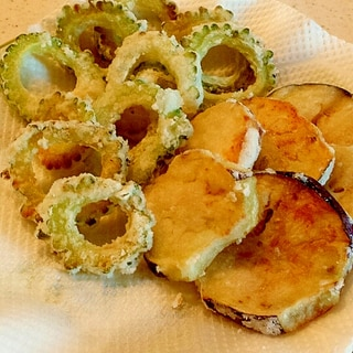 天ぷらより簡単!野菜の片栗粉揚げ