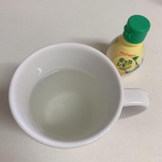 ダイエットに♪レモン水