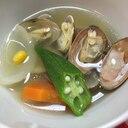 アサリと春野菜のスープ