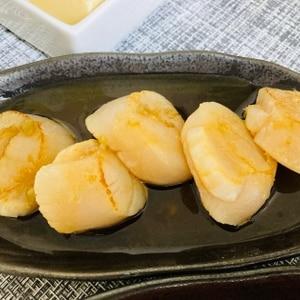 炙りホタテのカルパッチョ