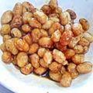 大豆のカリカリ揚げ