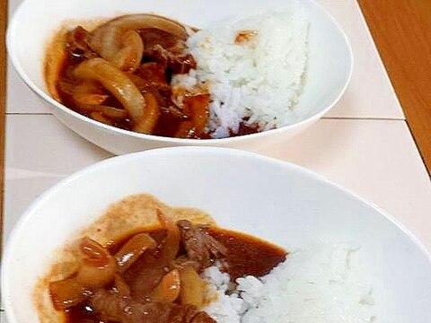 洋食屋さんの味!☆具だくさんのハヤシライス