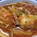 シンプル手羽先のトマトソース煮