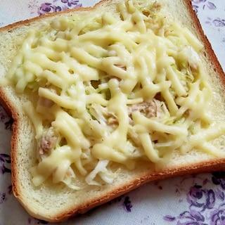簡単!無限キャベツでチーズトースト