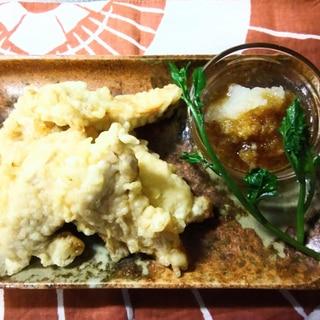 ふわふわとり天 鶏胸肉の天ぷら 鶏天 鳥天