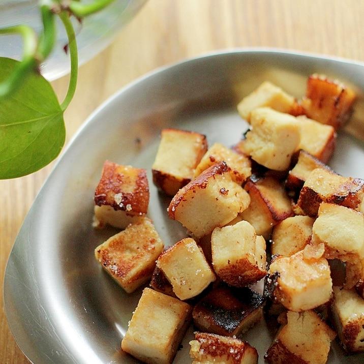 フライパンで♪高野豆腐のしっとりおやつ☆ヘルシー!